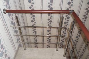 Металлические перила из нержавеющей стали
