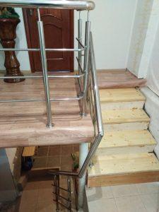 Ограждения на лестницу в частном доме (р-н Мясново)