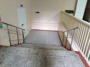 Ограждения лестничных маршей для МБОУ «Центр образования №27»