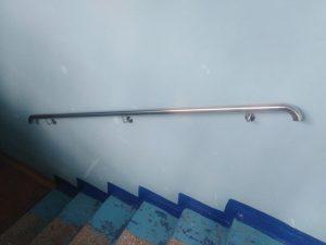 Поручни из нержавеющей стали для МБОУ «Центр образования №27»