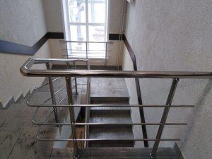 Ограждения лестничных маршей для ОАО «Щекиноазот»
